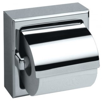 Toalettpappershållare i rostfritt stål (AISI 304) - Modell 3