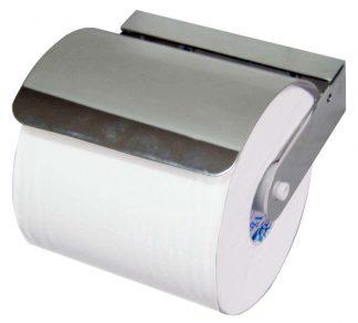 Toalettpappershållare i förkromad mässing