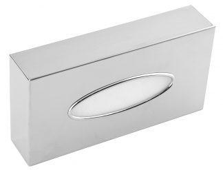 Dispenser för servetter i rostfritt stål (AISI 304)