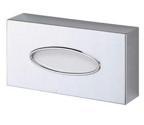 Dispenser för servetter i förkromad mässing - Oval öppning