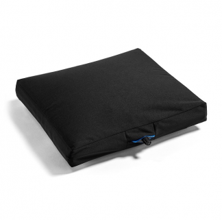 Air-controlled seat cushion for wheelchairs