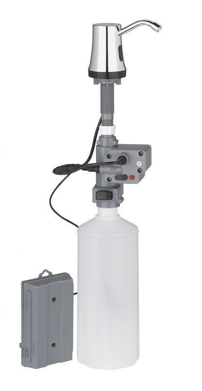 Tvåldispenser med automatisk sensor för inbyggnation