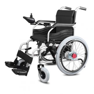 Electric Wheelchair A3 - Foldable - Can be driven manually