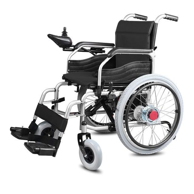 Electric Wheelchair A3 - Foldable - Can be driven manually | Dealer Swemed