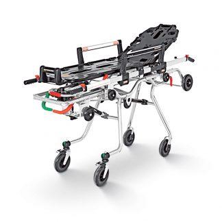 Ambulansvagn med löstagbar bår