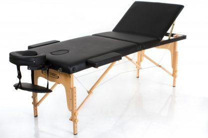 Massagebänk - Hopfällbar - RESTPRO® Classic 3 - Justerbart ryggstöd - Trä