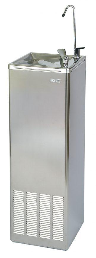Dricksfontän med kylare - Flaskpåfyllning - Golvmodell - VA-anslutning