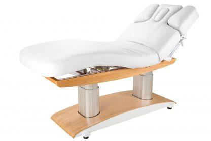 Modern och bekväm SPA-säng med 4 motorer - Ljus träbas