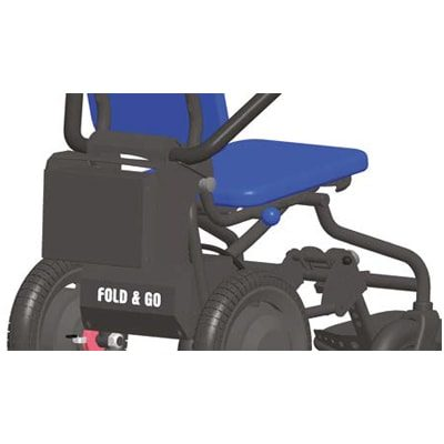 Fold & Go - Elrullstol - Hopfällbar