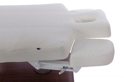 Modern och bekväm SPA-säng med 4 motorer - Brun träbas