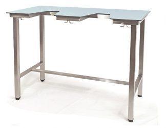 Demonterbart bord för ekokardiografi med HPL-yta (laminat) - Veterinärutrustning