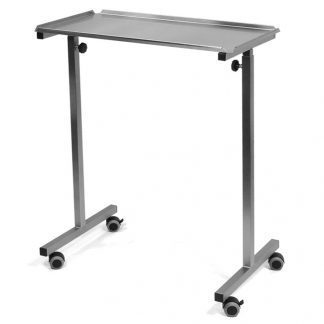 Bridge height-adjustable table