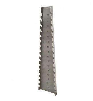 Vertikal hållare för endotrakeala rör