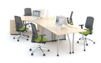 Alfa - Skrivbord och skåp