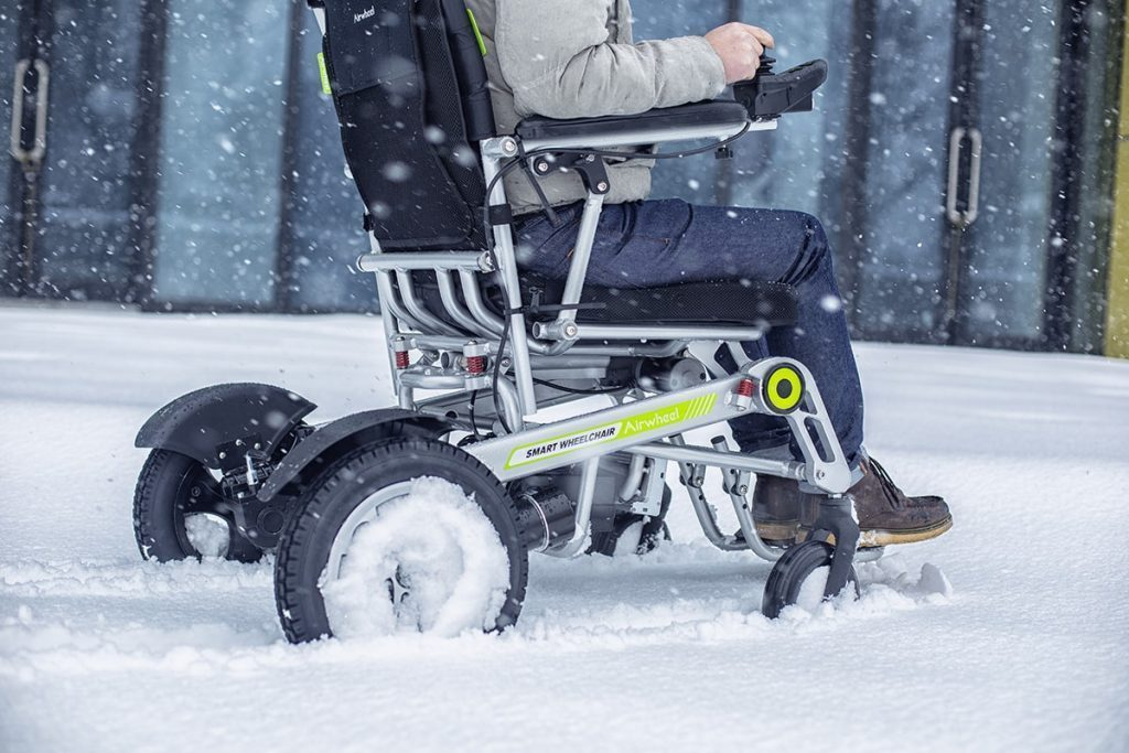 Airwheel H3S på vintern