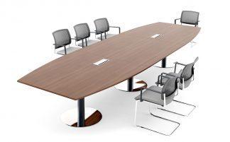 Konferensbord och sidobord