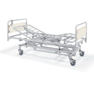 Vårdsäng med hjul - Elektriskt höjdjustering - 4-delad - Horus 5034V