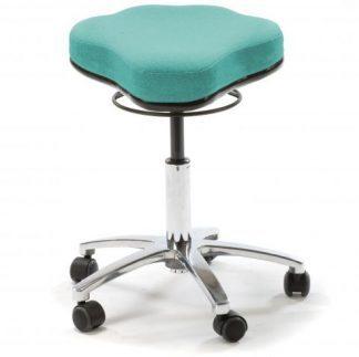 Dubbelkurvig och ergonomisk medicinsk arbetsstol (Standard)