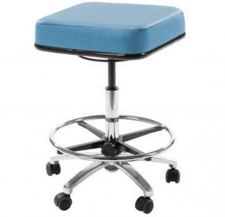 Kvadratisk medicinsk stol (Hög)