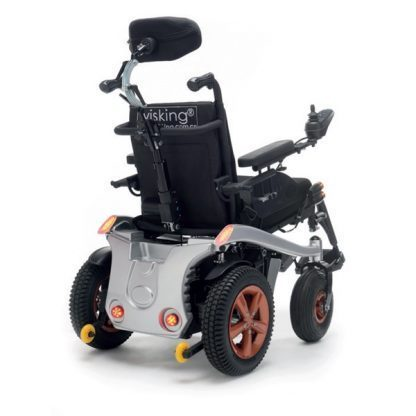 K-SPEEDY - Ergonomisk elrullstol med justerbart säte och huvudstöd