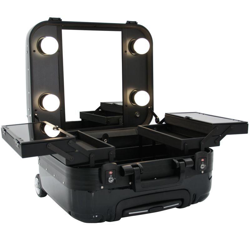 Sminklåda - GLAMOR 9301 - Portabel sminkstation