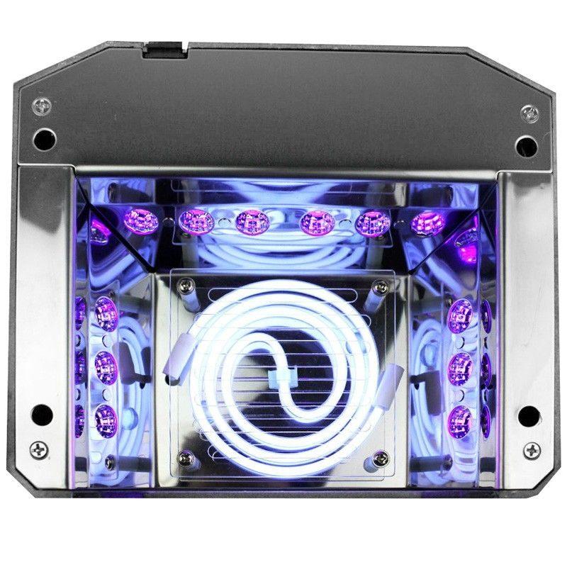 UV lampa 36W med sensor LED + CCFL DIAMOND   swemed.se