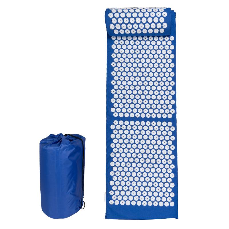 Spikmatta med kudde - Stor - Blå
