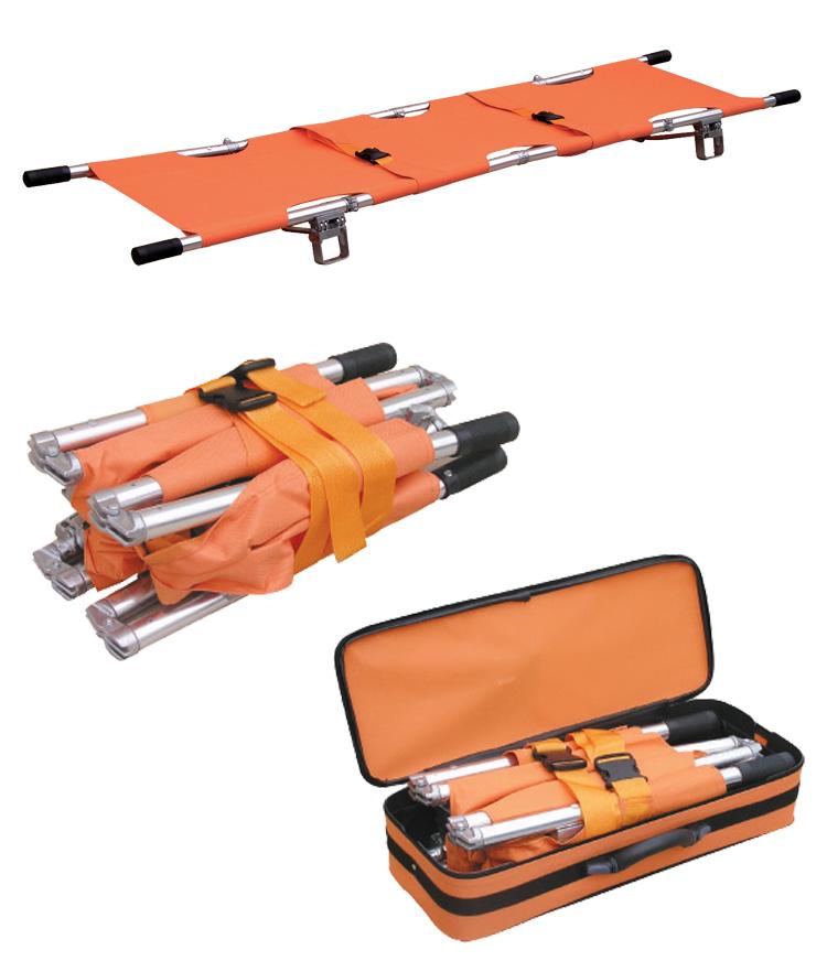 Sjukbår - Kompakt och vikbar med väska för transport - Lätt i vikt